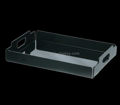 Bespoke black serving tray STS-090