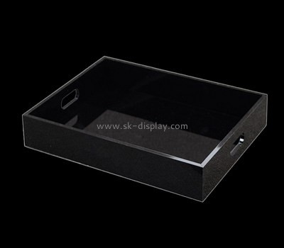 Black lucite trays wholesale STS-095