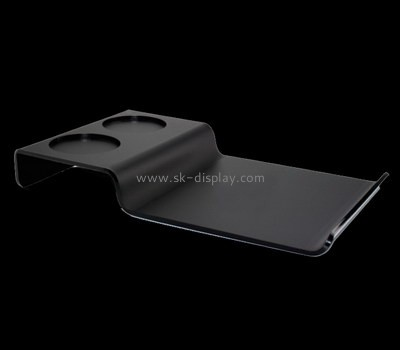 Bespoke black personalized acrylic tray STS-094