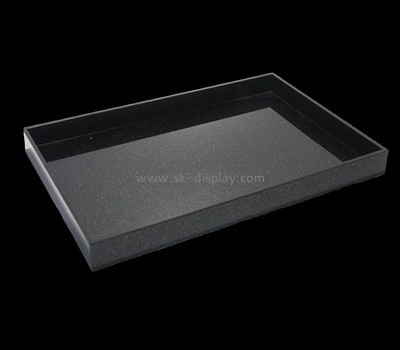 Bespoke acrylic beautiful serving trays STS-098