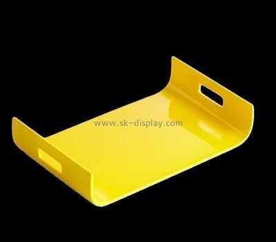 Bespoke yellow plexi tray STS-101