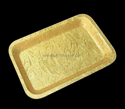 Bespoke gold small plastic tray STS-109