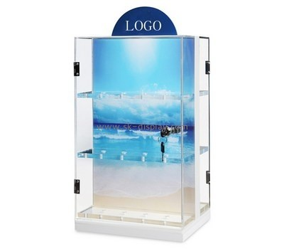Bespoke acrylic collectors display cabinet DBS-658