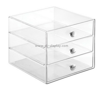 Bespoke clear acrylic drawers DBS-686