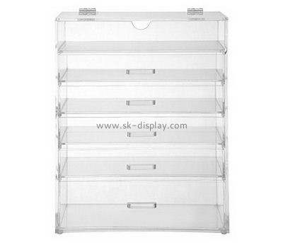 Bespoke acrylic large makeup organizer with drawers DBS-690