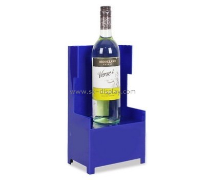 Bespoke acrylic unique wine bottle holder WD-100