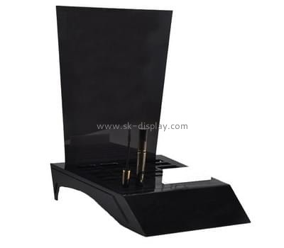 Customize retail lucite makeup display stand CO-454