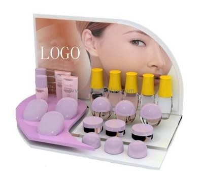 Customize retail lucite makeup display for sale CO-466