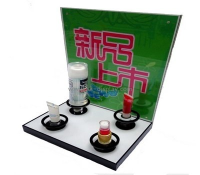 Customize acrylic skincare display stand CO-470
