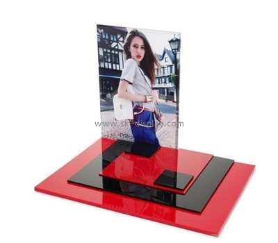 Customize lucite cosmetic display stand CO-480