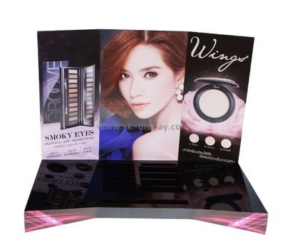 Customize acrylic cosmetic product display stands CO-509