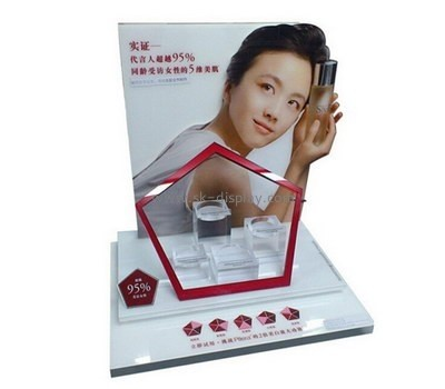 Customize retail acrylic cosmetic display stand CO-552