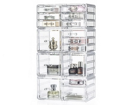Customize acrylic clear makeup drawer organizer CO-578
