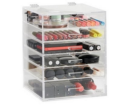 Customize clear acrylic makeup drawer organizer CO-576