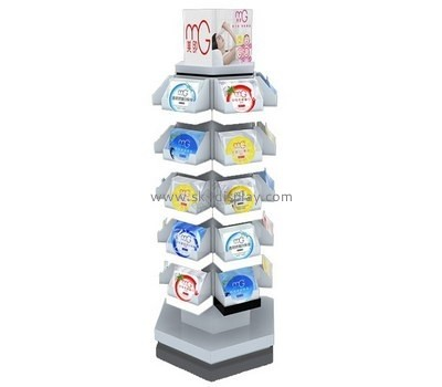 Customize acrylic free standing retail display stands CO-580