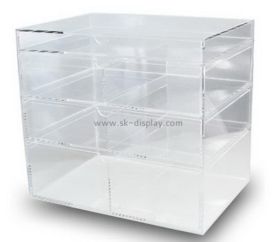 the container store acrylic makeup organizer CO-605