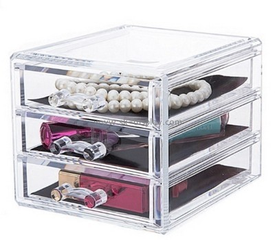 Customize acrylic makeup case organizer CO-611
