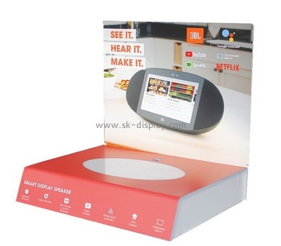 Customize acrylic retail product display stands SOD-405
