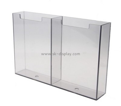 Customize clear acrylic brochure stand BD-480