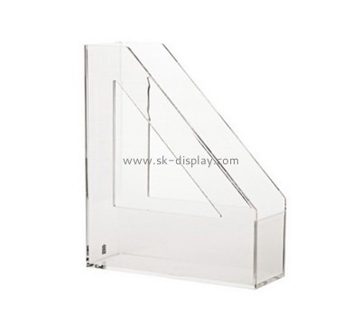 Customize acrylic vertical file holder BD-495
