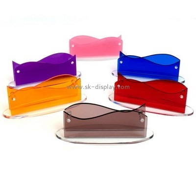 Customize acrylic business card holders for desk BD-503