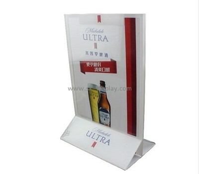 Customize acrylic stand up sign holder BD-526