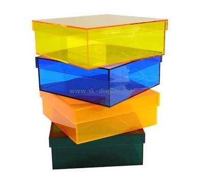 Customize perspex box with lid DBS-760