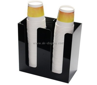 Customize acrylic paper cup holder DBS-824