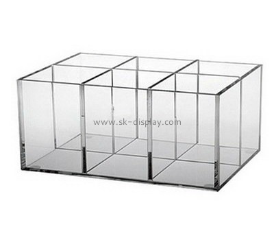 Customize acrylic 6 compartment box DBS-840