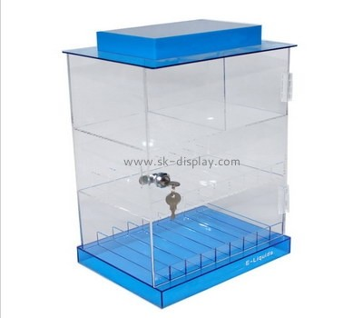 Customize clear display cabinet DBS-858