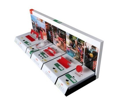 Customize free standing retail display stands SOD-475