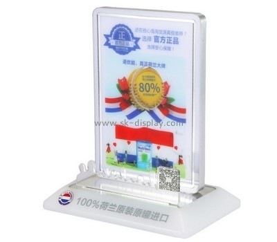 Customized plexiglass display stands for retail SOD-520