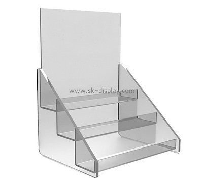 Customize acrylic tiered display stand SOD-521