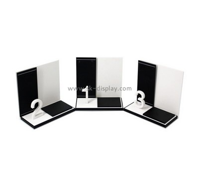 Customize acrylic retail counter display stands SOD-545