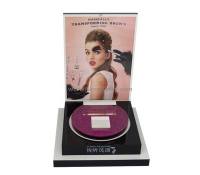 Customize lucite mac makeup display stands CO-646