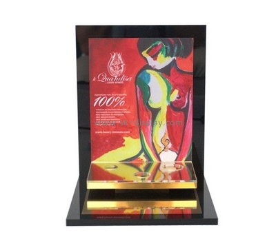 Customize perspex cosmetic shop display CO-664