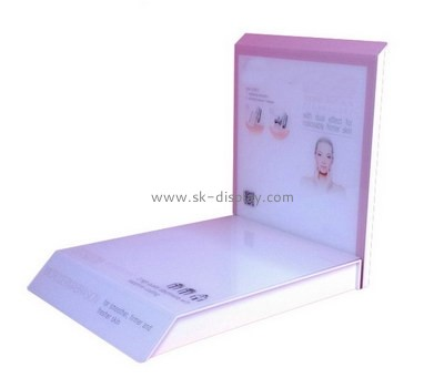 Customize retail cosmetic counter display CO-675