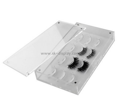 Customize acrylic eyelash box design CO-708