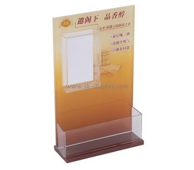 Customize acrylic literature holder stand BD-530