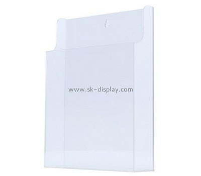 Customize acrylic literature holder wall mount BH-543