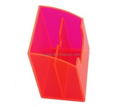 Customize acrylic two tier brochure holder BD-546