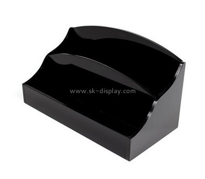 Customize acrylic business card holder desk BD-547