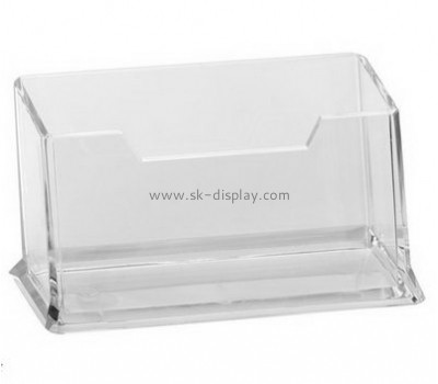 Customize acrylic unique business card holders BD-555