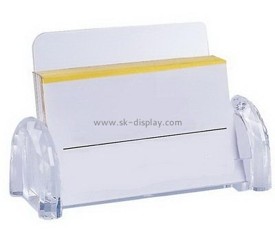 Customize acrylic cool business card holder BD-557
