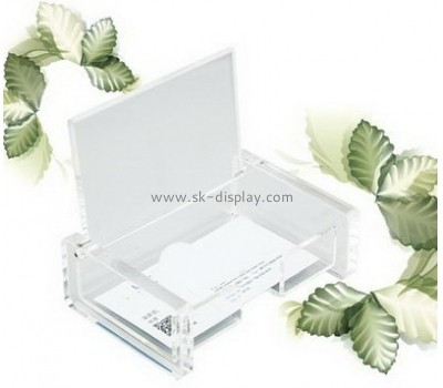Customize acrylic business card holders for men BD-559