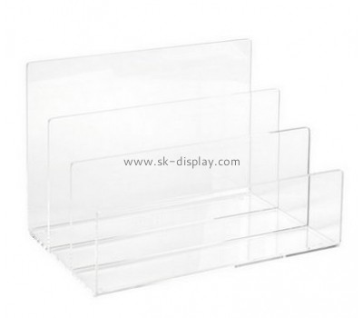 Customize acrylic magazine folder holder BD-583