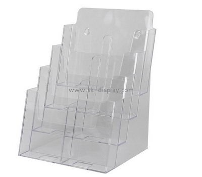 Customize acrylic a4 literature holder wall mount BD-599