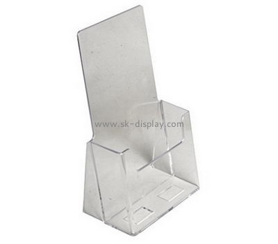 Customize acrylic pamphlet size literature holder BD-601