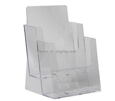 Customize a4 acrylic brochure holder BD-618