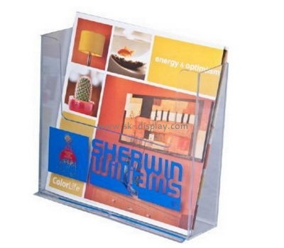 Customize acrylic free standing brochure holder BD-633